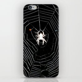 spider blow out iPhone Skin