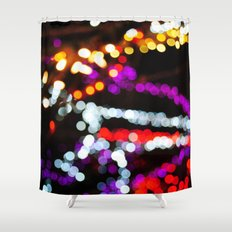 Nightlife  Shower Curtain