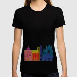 Siena skyline pop T-shirt