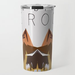 In the Mountains Travel Mug