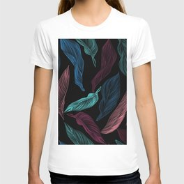 silk leaves T-shirt