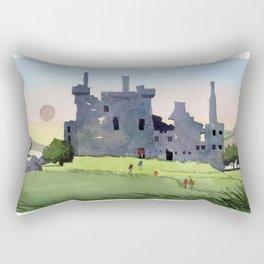 Kilchurn Castle, Scottish Highlands Rectangular Pillow