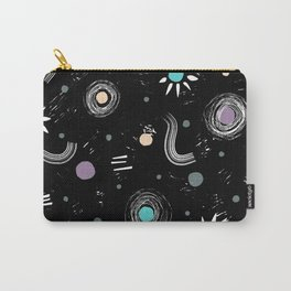 Pastel Universe Abstract Pattern Carry-All Pouch