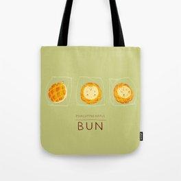 Porcupineapple Bun Tote Bag