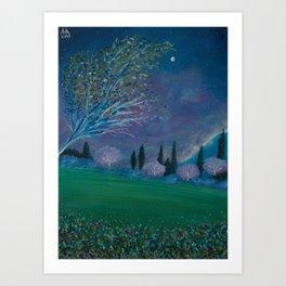 Primeval Heaven Art Print