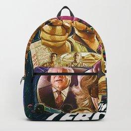Lebowski Star War Poster Backpack