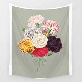 Colorful Flower Bouquet Wall Tapestry