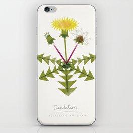 Dandelion Modern Botanical iPhone Skin