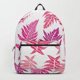 Inked Ferns – Blush Palette Backpack