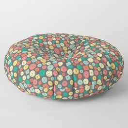 The other buttons... Floor Pillow