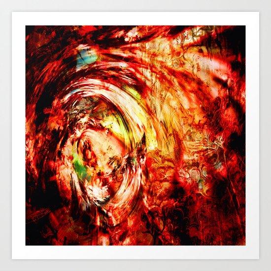 Tornado Art Print
