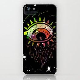 Right Eye of Space Kami iPhone Case
