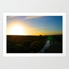 Walking On A Dream - Original Photographic Art Art Print