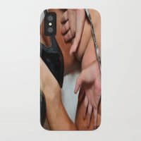 cunt iPhone & iPod Cases featuring funny painting bondage ass BDSM fetish Big dick cock suck oral sex pussy cunt transgender fuck  by Velveteen Rodent