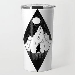Mountains Ink Travel Mug