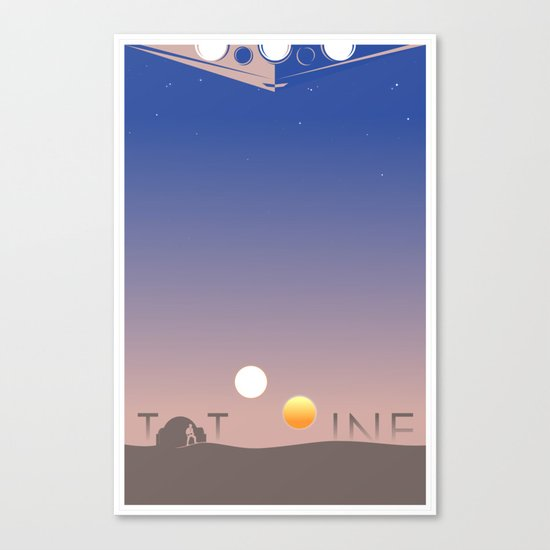 TATOOINE Canvas Print