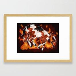 Devil Horse Framed Art Print