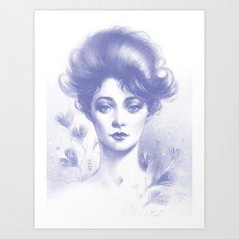 Gibson Lady Art Print