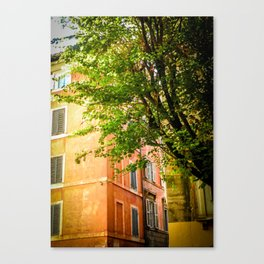 off the streets of Italy Canvas Print