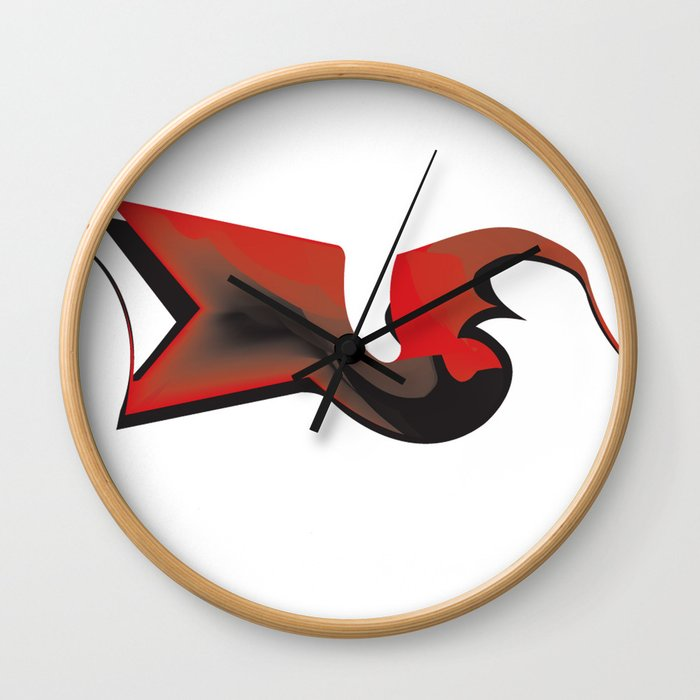 crowish Wall Clock