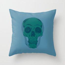 Skullterior Motives Throw Pillow