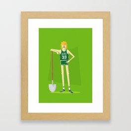 Larry Legend Framed Art Print