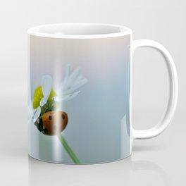 Ladybug on a Chamomile Flower Coffee Mug