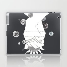 Everything Revolves Around Us II Laptop & iPad Skin