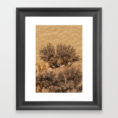The world of stones - Dendrites Framed Art Print