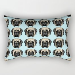Fawn Mastiff Rectangular Pillow
