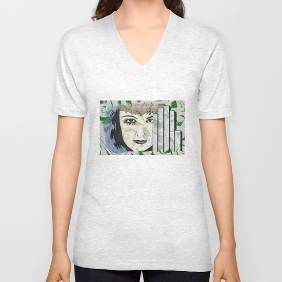 Took My Hands Off of Your Eyes Too Soon Unisex V-Neck