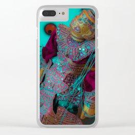 Yak Dream Clear iPhone Case