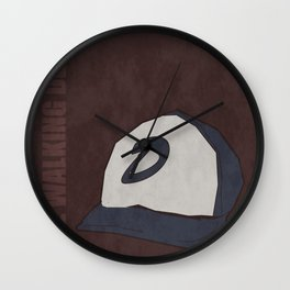 The Walking Dead game: Clementine's hat Wall Clock