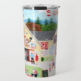 The Calico Cat Quilt Shop Travel Mug