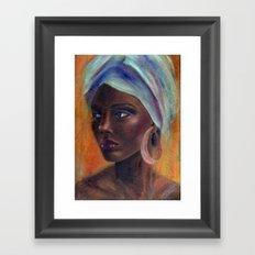 African Queen Framed Art Print