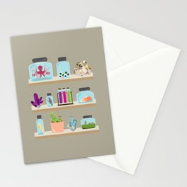 Witchy Shelves Stationery Cards