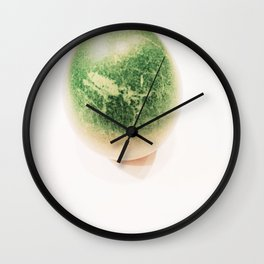 Green Egg Wall Clock