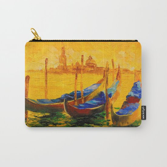 Golden evening in Venice Carry-All Pouch