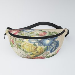 Floral tribute to Louis McNeice (Light) Fanny Pack