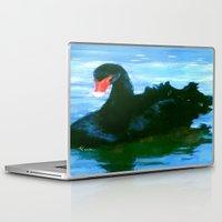 noir Laptop & iPad Skins featuring NOIR by FOXART  - JAY PATRICK FOX