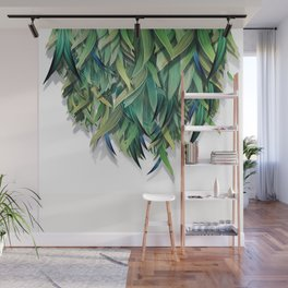 """""""Spring Forest of Surreal Leaf"""" Wall Mural"""
