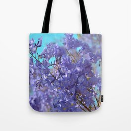 Purple and Blue Party! Tote Bag