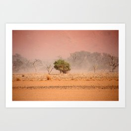 NAMIBIA ... through the storm III Art Print