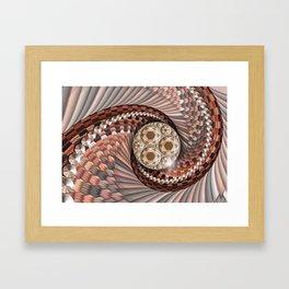 The wheel of destiny Framed Art Print