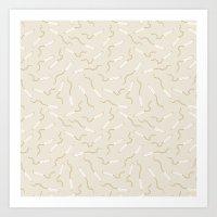 Tampons Art Print