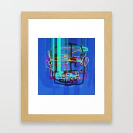HZONT Framed Art Print