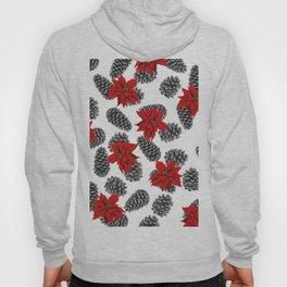 mistletoe and pinecone white Hoody