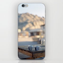 on the edge of the world iPhone Skin
