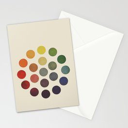'Parsons' Spectrum Color Chart' 1912, Remake Stationery Cards