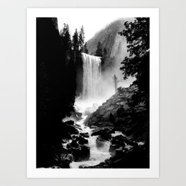 Yosemite Vernal Falls Art Print